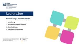 Thumbnail - Lecture2go - Einführung für Produzenten