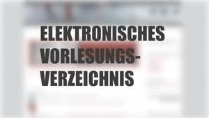 Thumbnail - Tutorial elektronisches Vorlesungsverzeichnis (eVV)